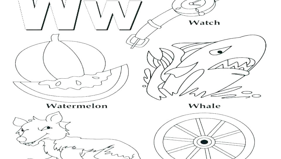 960x544 Coloring Pages Letter B Letter B Coloring Sheets Letter B Coloring