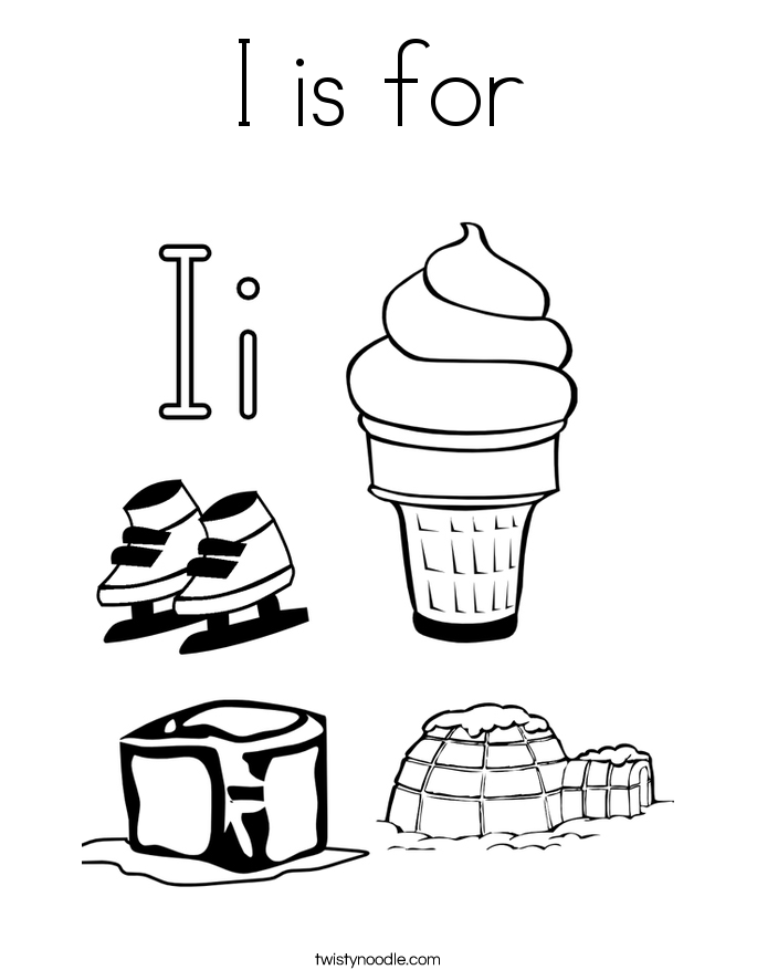 685x886 Letter Ii Coloring Pages