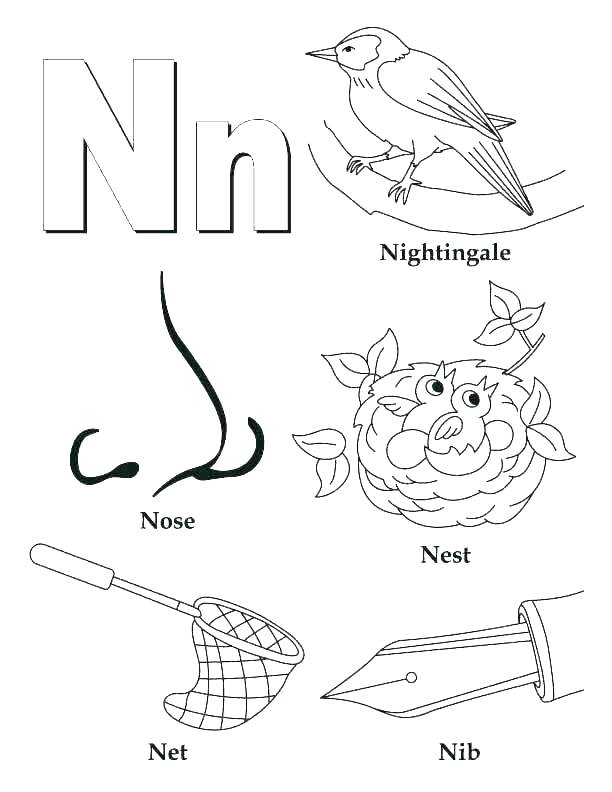 612x792 Letter K Coloring Pages For Preschoolers Letter J Coloring Pages