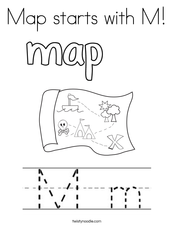 685x886 Letter M Coloring Pages
