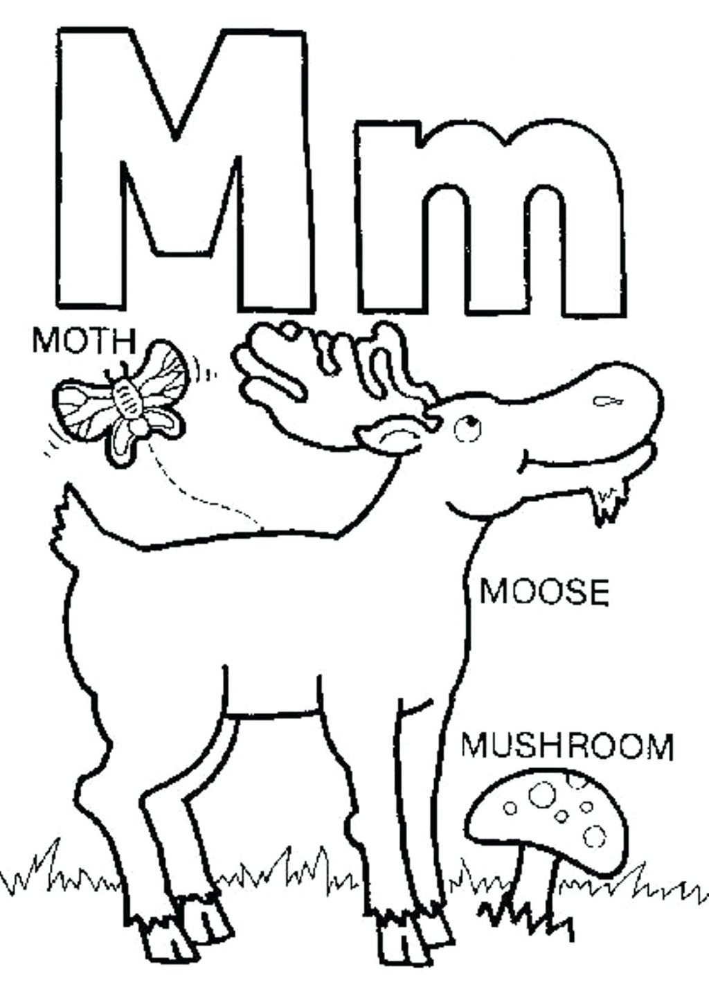 1024x1425 Unique Letter M Coloring Pages Collection Printable Coloring Sheet