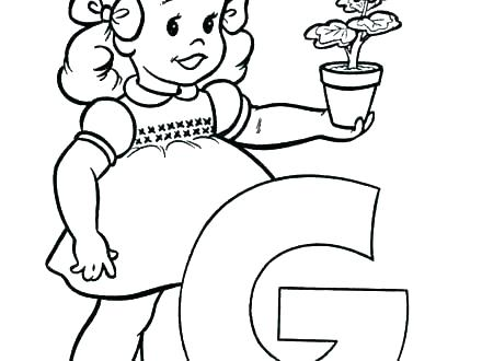 440x330 Letter N Coloring Page Letter D Coloring Pages Preschool Letter D