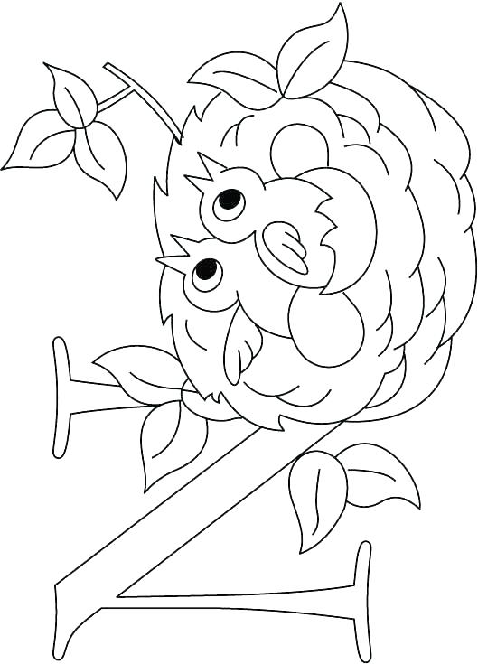 529x735 Letter N Coloring Pages N Coloring Pages Letter N Coloring Page N
