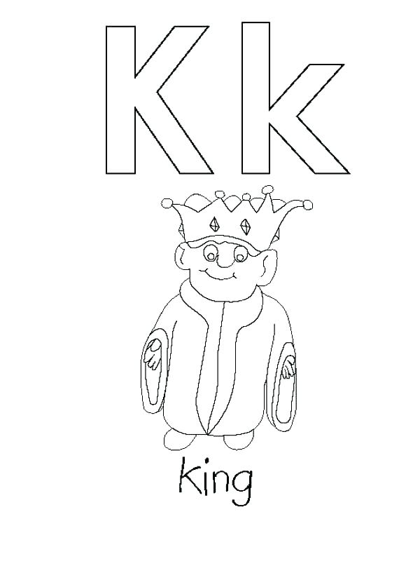 600x800 Letter K Coloring Pages F Coloring Page Letter K Coloring Sheets