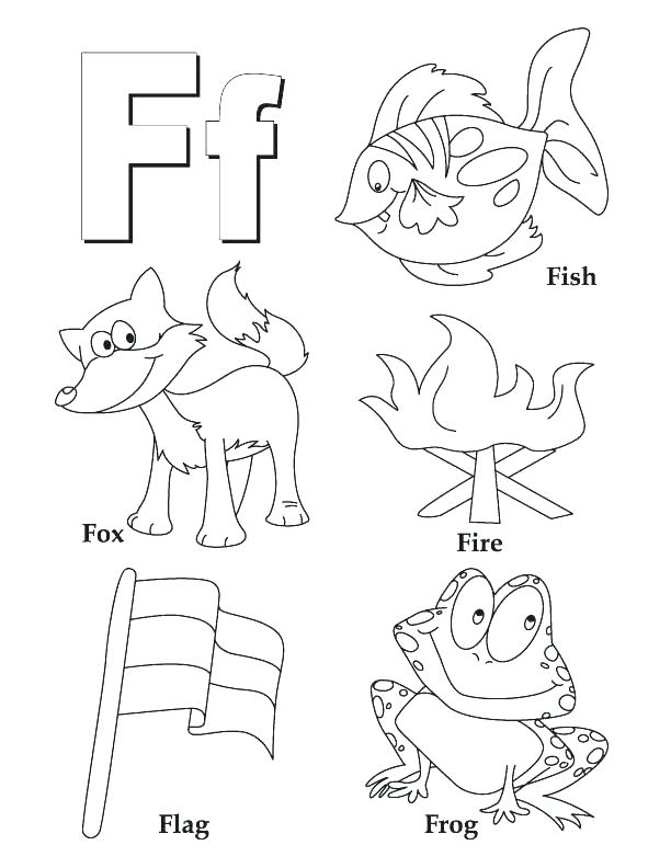 612x792 Letter O Coloring Pages Preschool Coloring Pages For Kindergarten