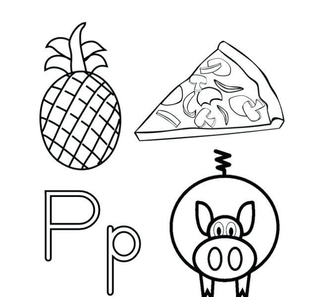 678x600 Letter P Coloring Sheet Letter P Coloring Sheet Coloring Pages