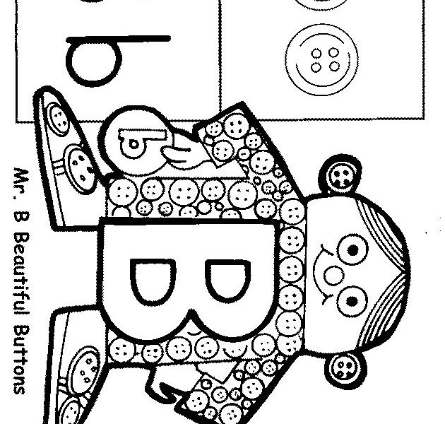 630x600 Letter People Coloring Pages Best Letter People Coloring Pgs