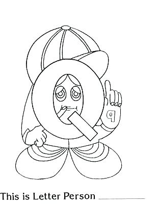 310x400 No Smoking Coloring Pages The Letter People Coloring Pages Letter