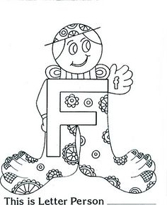 236x289 Brilliant Beginnings Preschool Letter Person G Coloring Page