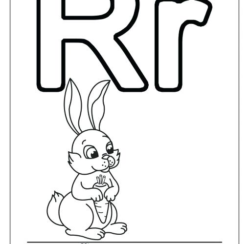 509x500 Letter R Coloring Page Medium Size Of Letter R Coloring Page Sheet