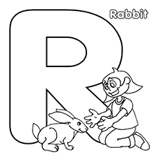 230x230 Top Free Printable Letter R Coloring Pages Online