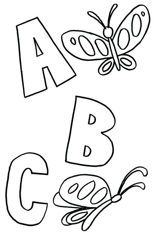 Letter T Coloring Pages Printable