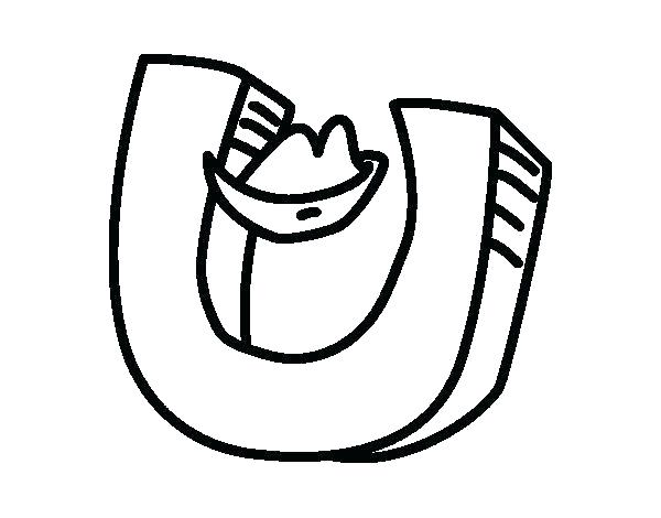 600x470 The Letter C Coloring Pages U Coloring Page Letter U Coloring