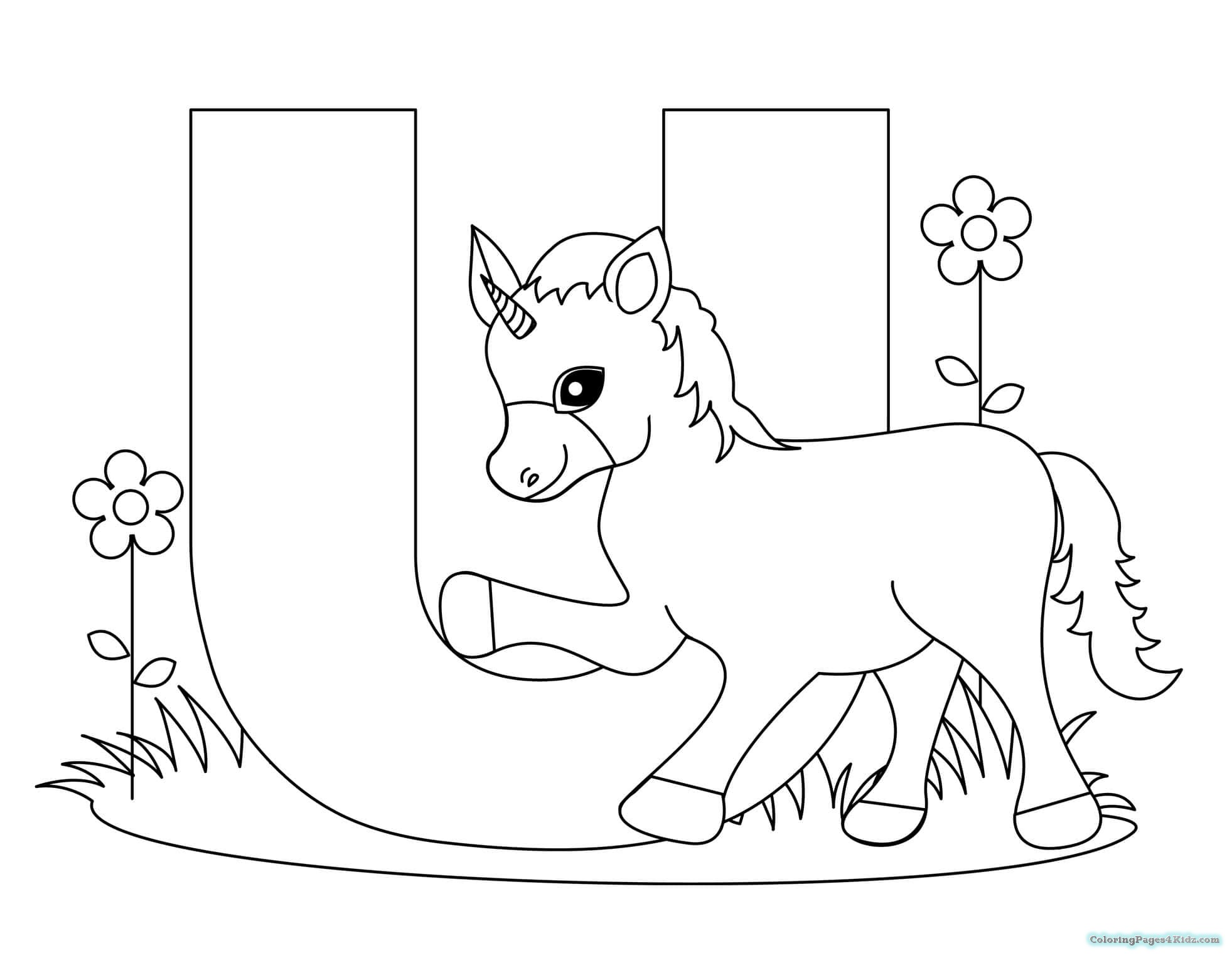 1963x1527 Free Printable Letter U Coloring Pages Coloring Pages For Kids