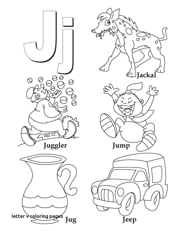 612x792 Letter V Coloring Pages