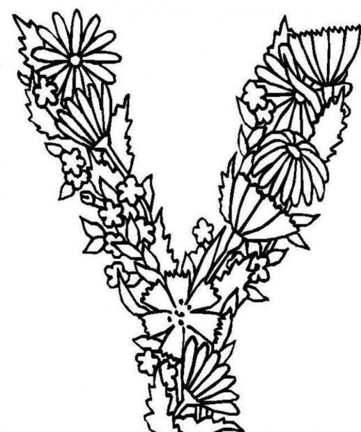 518x619 Letter V Coloring Pages Awesome Best Pranav Images