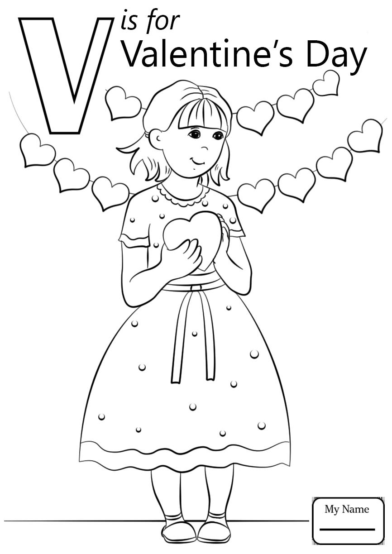 866x1224 Letter V Coloring Pages Of Alphabet Words Forddler Kids
