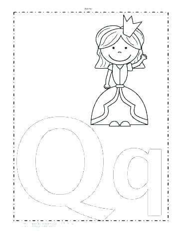 363x470 Letter Y Coloring Pages Letter Q Coloring Page Coloring Sheets