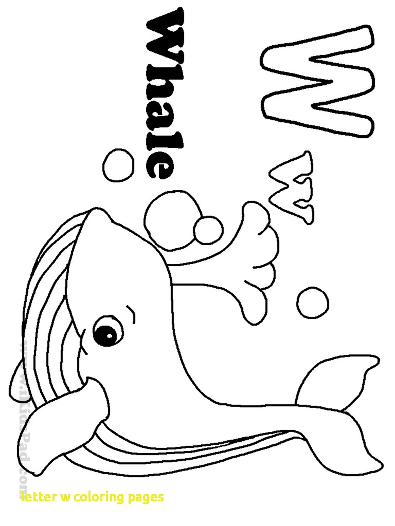 Top 10 Letter 'W' Coloring Pages Your Toddler Will Love To Learn ... | 1024x768