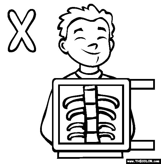 554x565 Fresh Letter X Coloring Pages