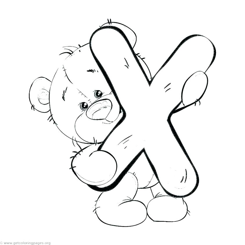 843x843 Free Alphabet Coloring Pages A Coloring Page Free Printable