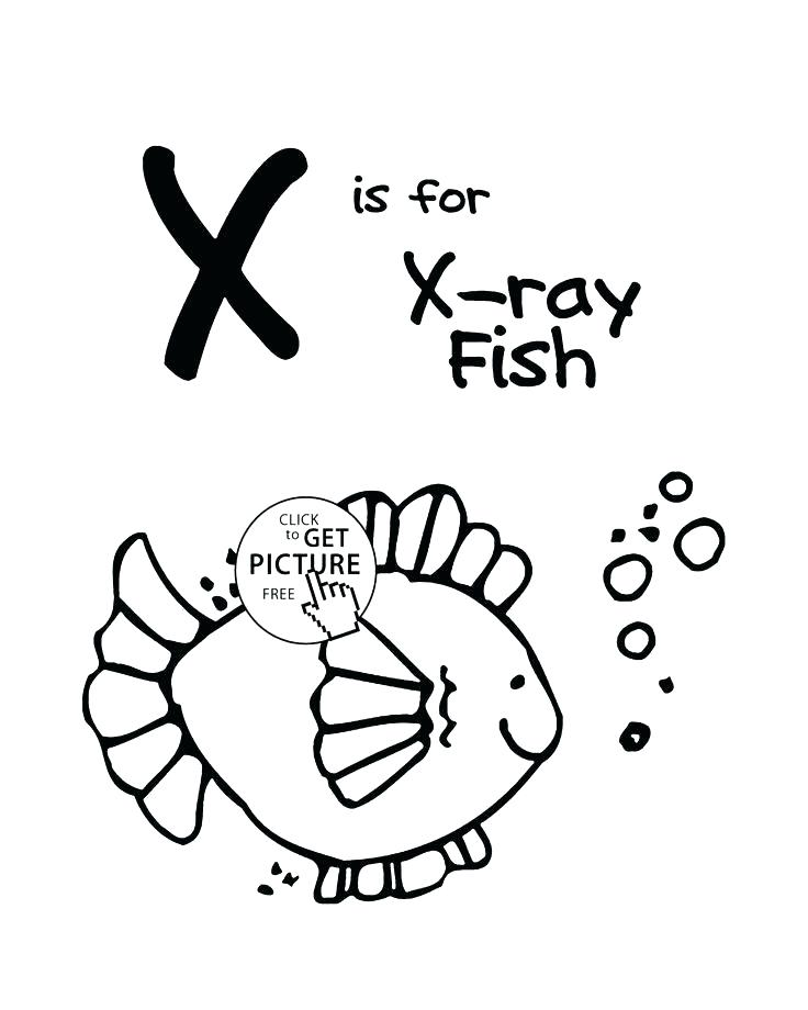 736x920 Coloring Pages Online To Print Alphabet Flowers Letter X Coloring