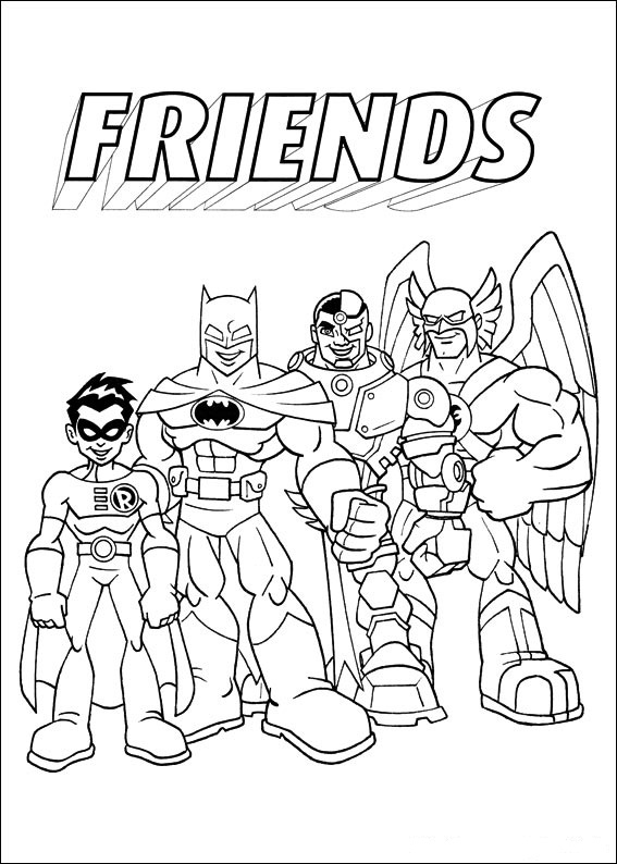 567x794 Coloring Pages Super Friends Animated Images, Gifs, Pictures