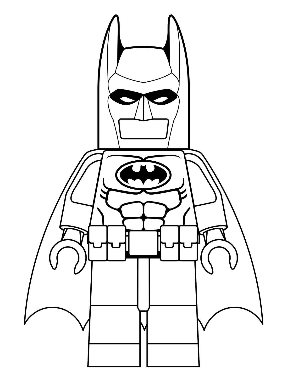 1200x1600 Kids N Coloring Pages Of Lego Batman Movie