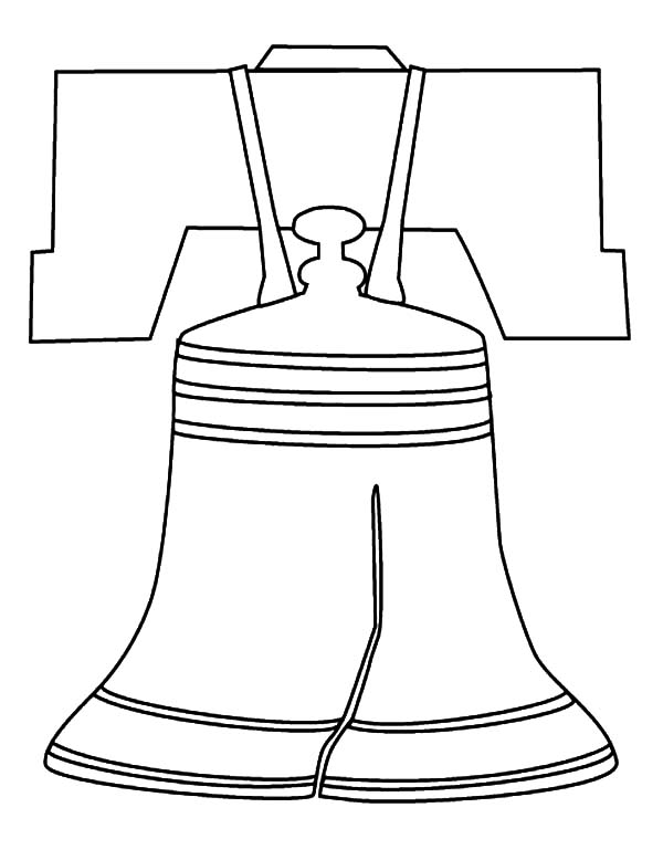 600x778 Famouse Liberty Bell Coloring Pages Batch Coloring