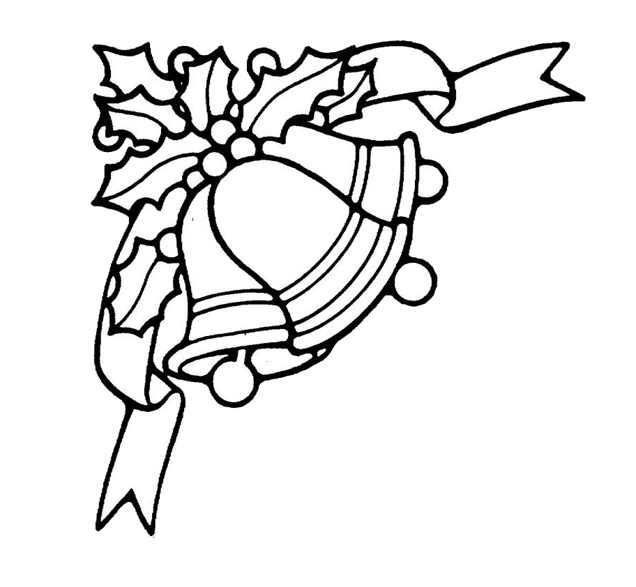 912x842 Free Printable Bell Coloring Pages For Kids
