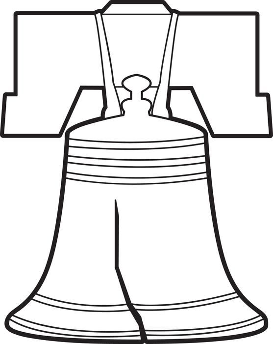 557x700 Liberty Bell Coloring Page Liberty Bells, Liberty And Social Studies