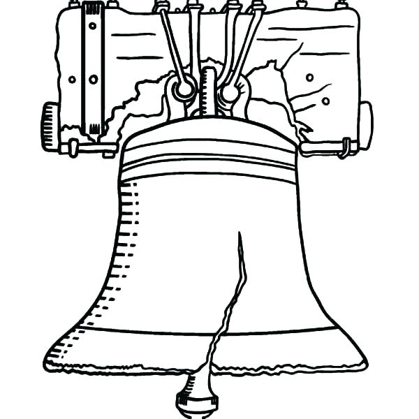 600x600 Liberty Bell Coloring Page Cheap Liberty Bell Coloring Page Print