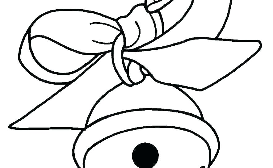 884x544 Bell Coloring Pages