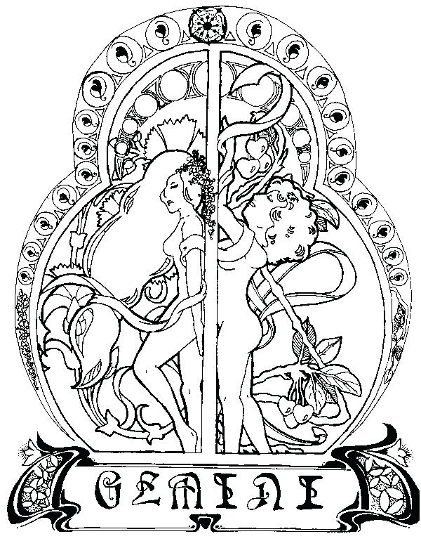 600x770 Zodiac Coloring Pages Stunning Astrology Coloring Pages