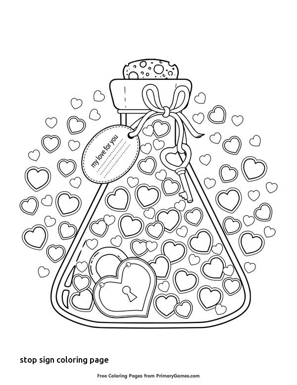 600x776 Best Libra Images On For Stop Sign Coloring Page
