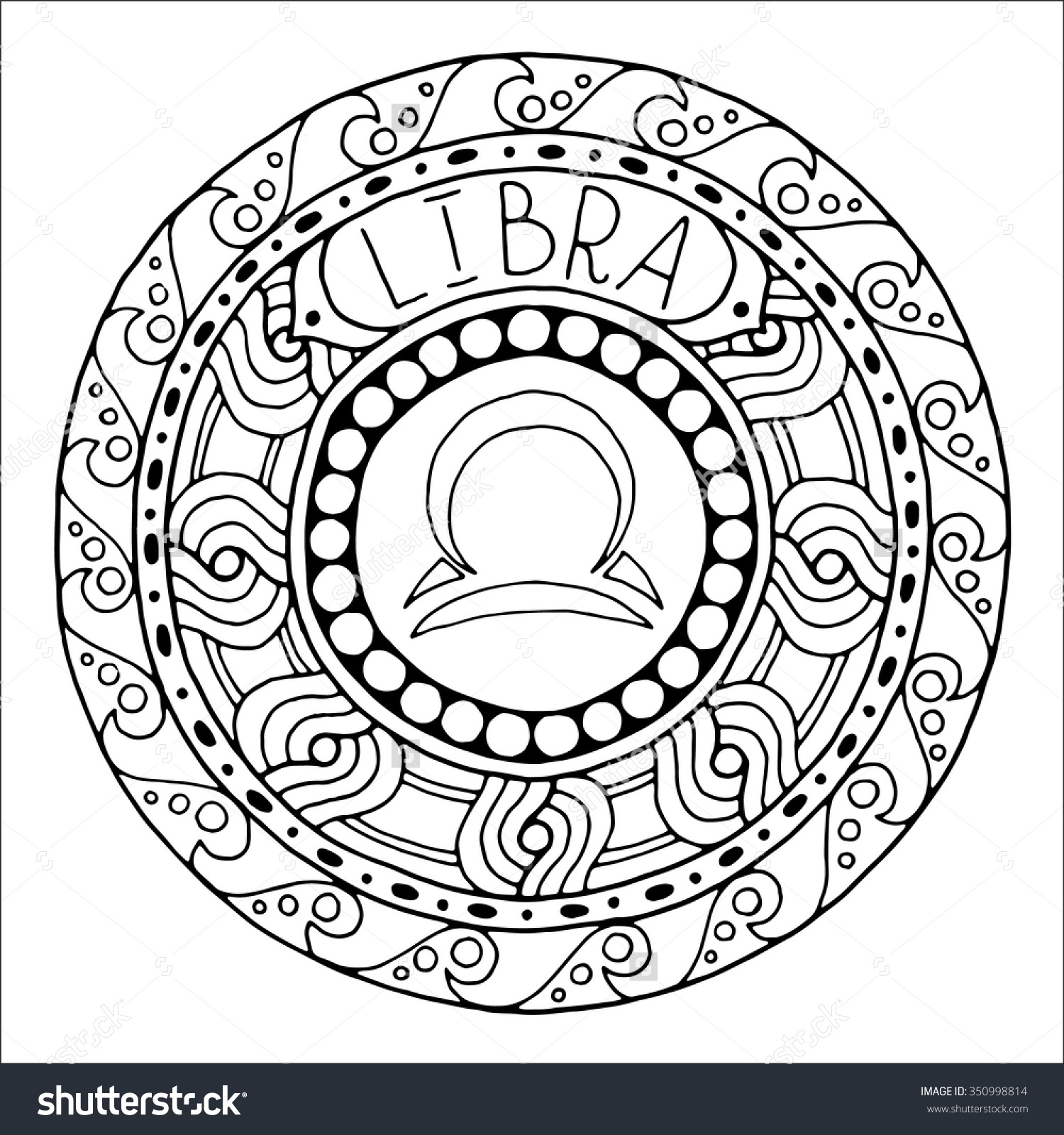 1500x1600 Zodiac Sign Of Libra Shutterstock Coloring
