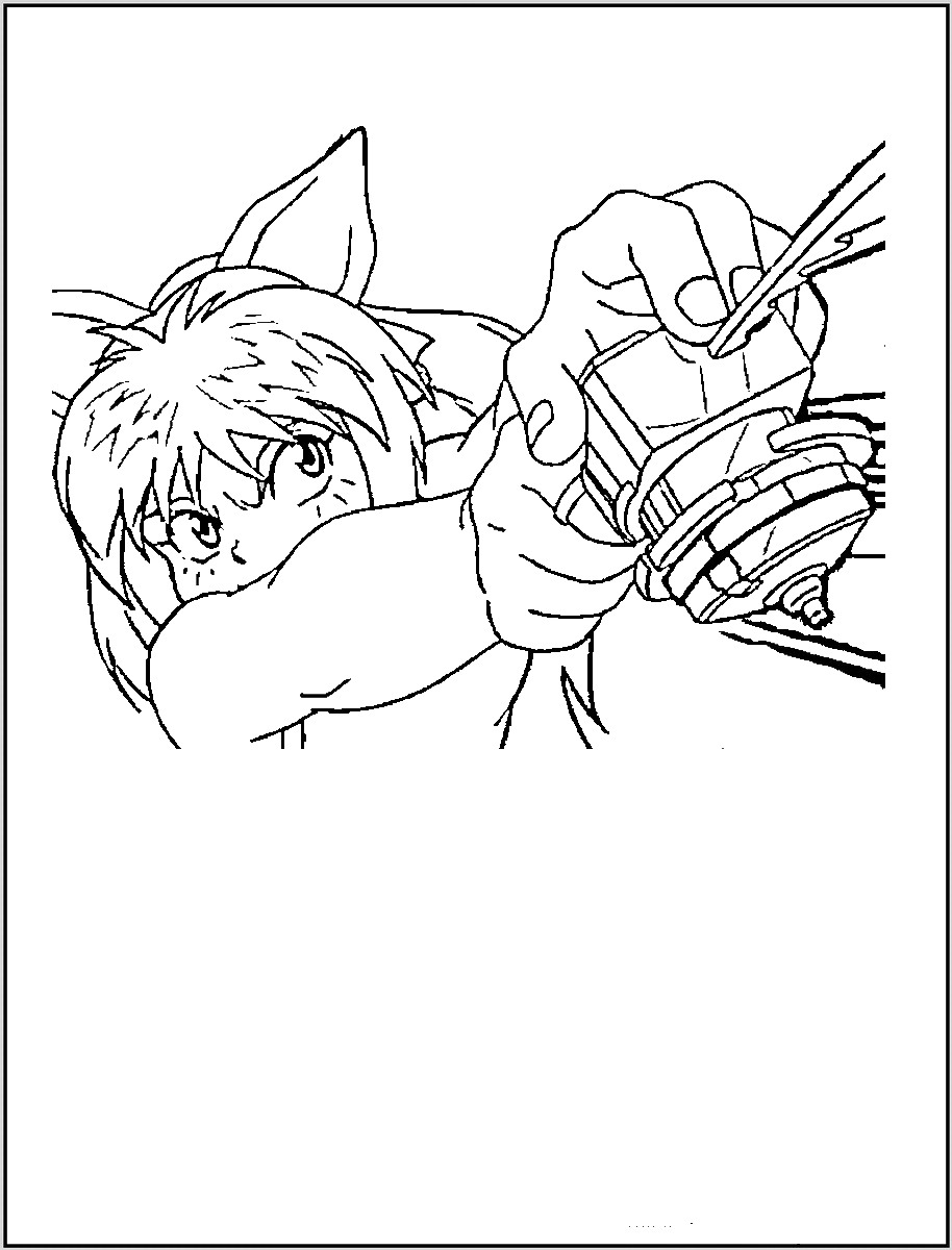 914x1200 Beyblade Coloring Pages