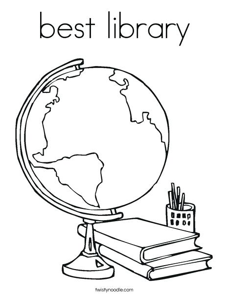 468x605 Librarian Coloring Page Elephant And Coloring Pages Library