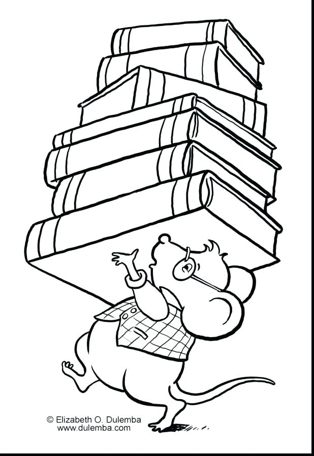 618x897 Library Coloring Pages Printables Library Coloring Pages Fantastic