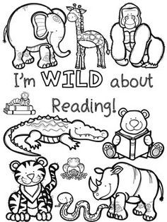 236x314 Wild About School Coloring Pages And Bookmarks Bookmarks, Pre
