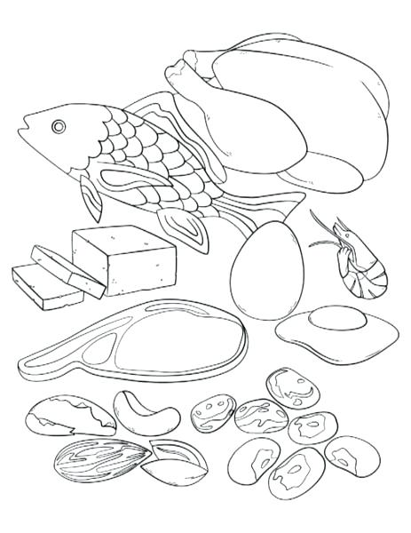 463x600 My Plate Coloring Page