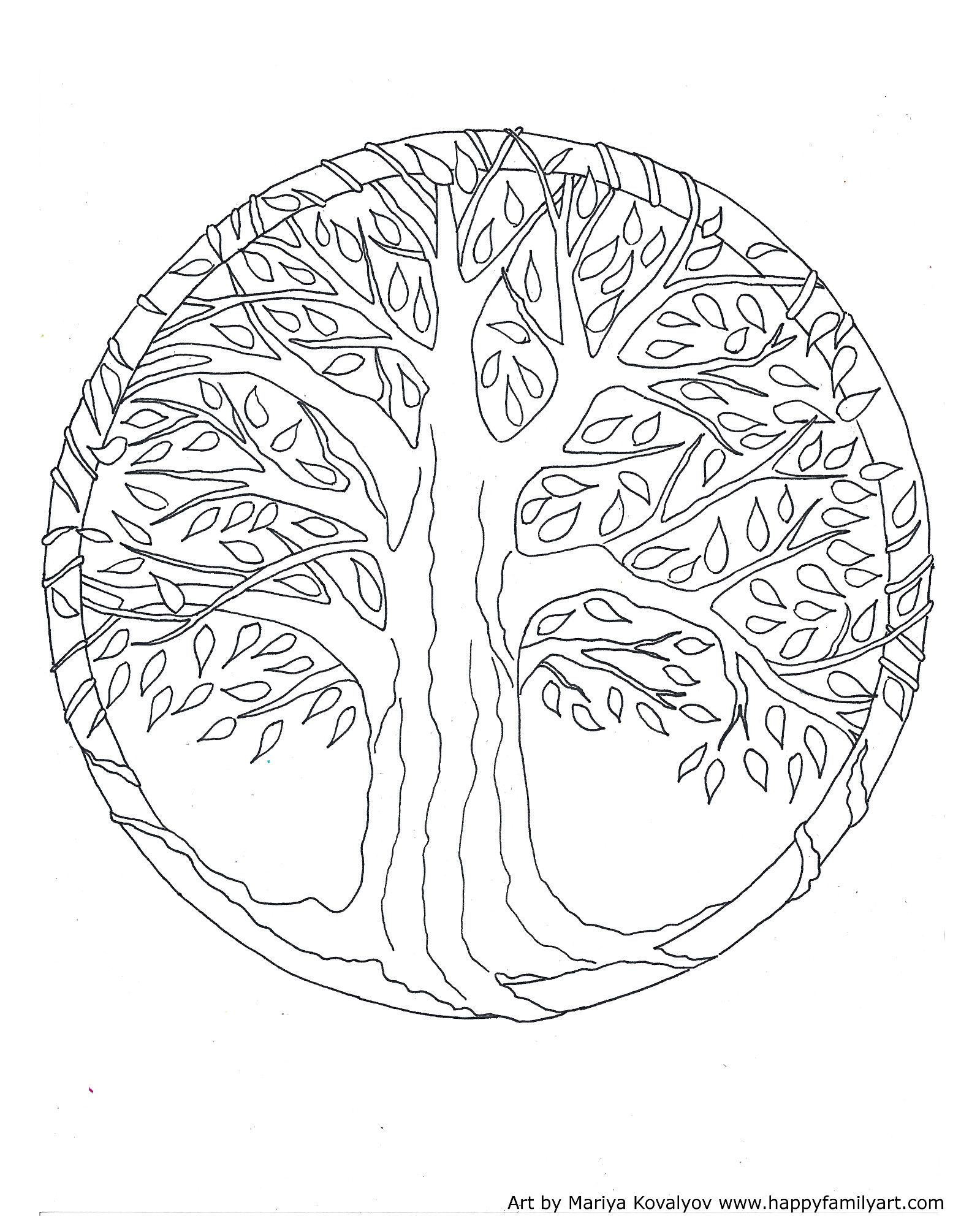 1599x2000 In Tree Of Life Coloring Pages