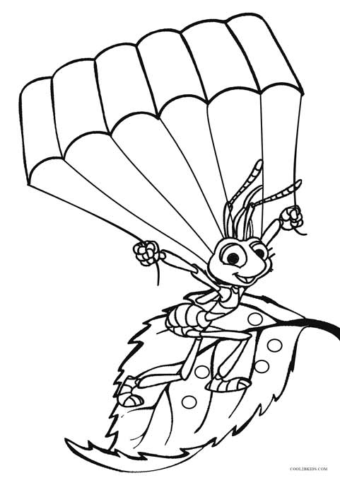 481x675 Printable Bug Coloring Pages For Kids