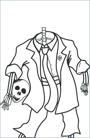300x460 Coloring Sheets For Halloween