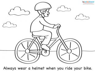 310x239 Coloring Sheets For Summer Safety