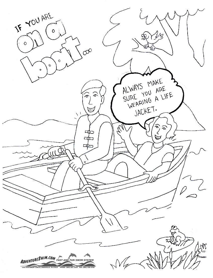 846x1100 Health And Safety Coloring Pages