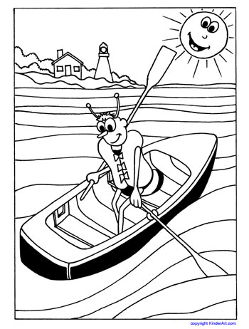 350x462 Lifejacket Coloring Page