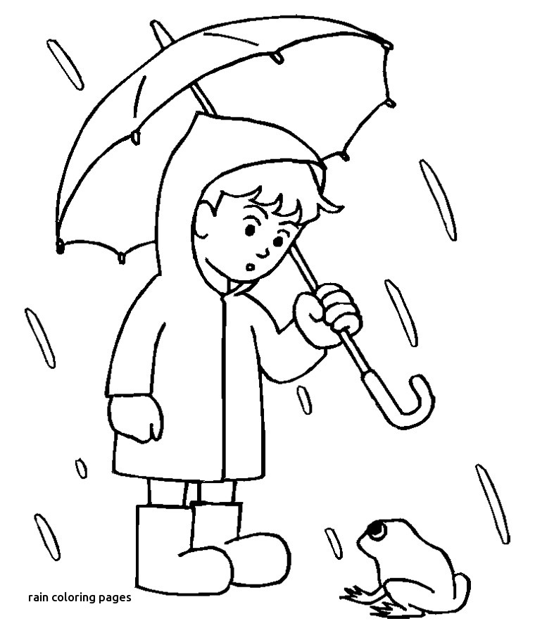 760x899 Rain Coloring Pages