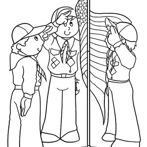 300x300 Boy Scouts Put On Your Life Jacket Coloring Pages Best Place
