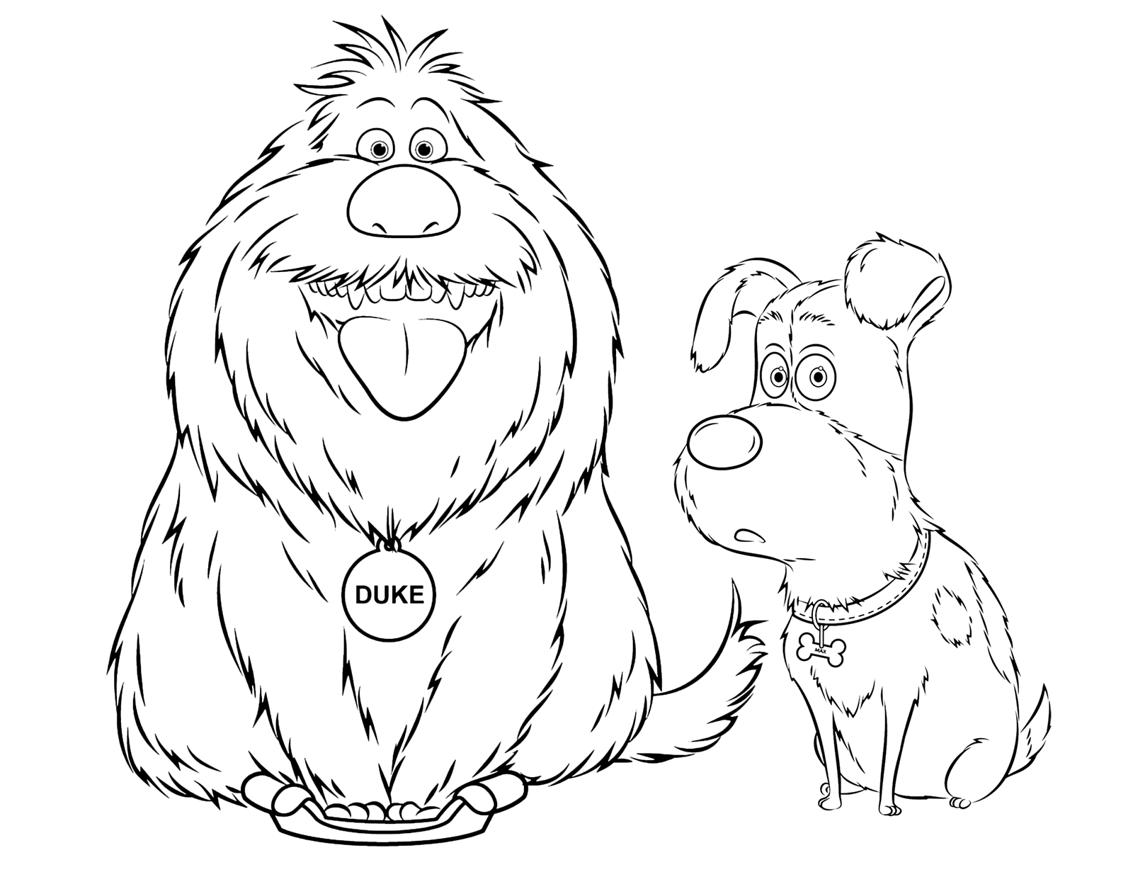 1600x1231 Secret Life Of Pets Coloring Pages Printable Free Coloring Pages